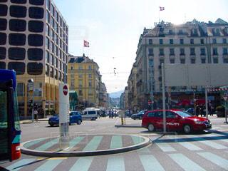 ヨーロッパの街並みの写真・画像素材[670298]