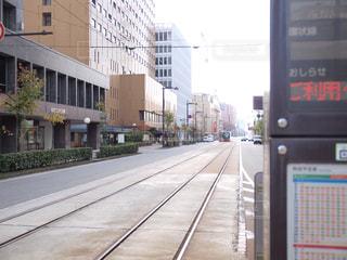 路面電車の写真・画像素材[865027]