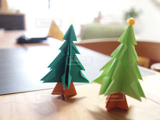 折り紙のツリーの写真・画像素材[933318]