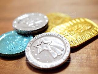 コイン、メダル、お金のイメージにの写真・画像素材[955391]