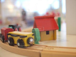 おもちゃ列車の写真・画像素材[1000101]