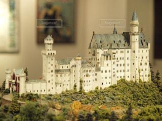ノイシュバンシュタイン城のミニチュアの写真・画像素材[1004855]