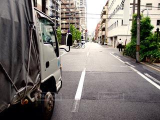 トラックの写真・画像素材[1005723]