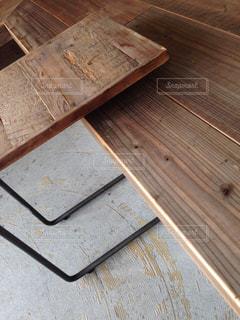 木製カッティング ボードの写真・画像素材[1032138]