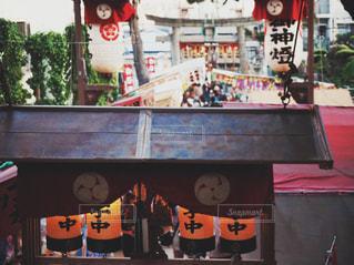 神社のおまつりの写真・画像素材[1183920]