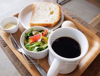 朝食とコーヒーの写真・画像素材[1190992]