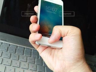 スマートフォンの写真・画像素材[1209919]