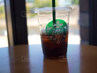 アイスコーヒーの写真・画像素材[1210414]
