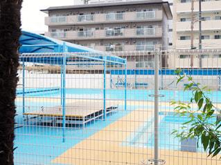 学校のプールの写真・画像素材[1238454]