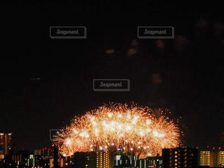 夜花火の写真・画像素材[1361732]
