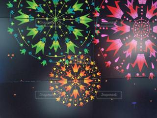 折り鶴の花火の写真・画像素材[1378161]