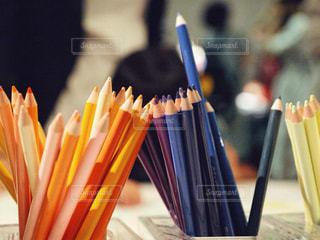 色鉛筆の写真・画像素材[1378166]