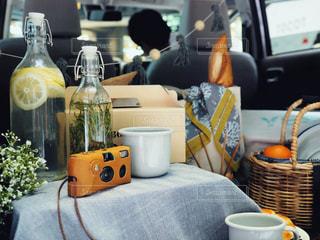 車のトランクパーティの写真・画像素材[1379721]