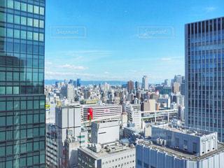 都市の高層ビルの写真・画像素材[1402866]