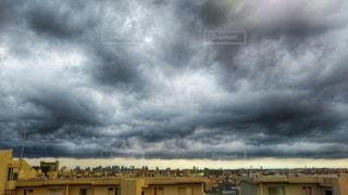 黒い雲の写真・画像素材[1443386]