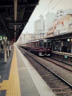 駅と電車の写真・画像素材[1516992]