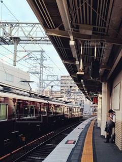 駅と電車の写真・画像素材[1516995]