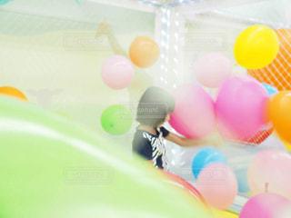 風船の遊び場の写真・画像素材[1523272]