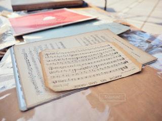 古い楽譜の写真・画像素材[1662546]