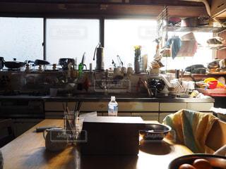 実家の台所の写真・画像素材[1711828]