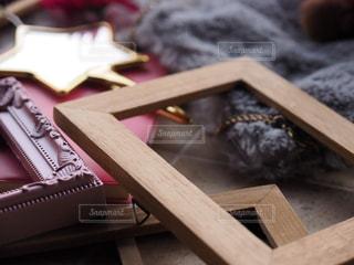 フレーム、飾り、鏡の写真・画像素材[1739146]