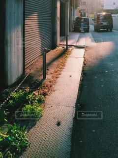 通りの眺めの写真・画像素材[1822150]