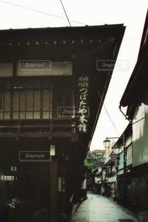 街の通りのビューの写真・画像素材[1822382]