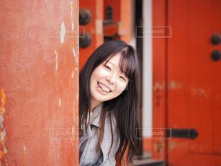 素敵な笑顔!の写真・画像素材[2030401]