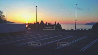 夕日の写真・画像素材[2073508]