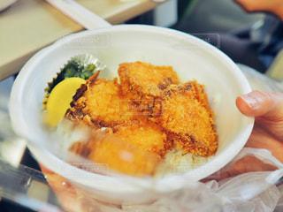 ブリカツ丼の写真・画像素材[2281095]