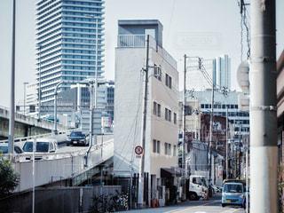 都会の高い建物の写真・画像素材[2767512]