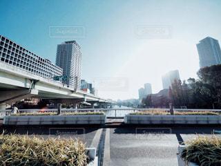 大阪の橋の写真・画像素材[2855021]