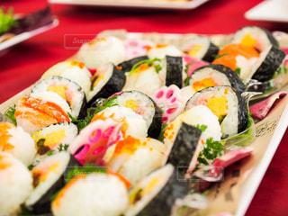 寿司を間近にするの写真・画像素材[2868162]