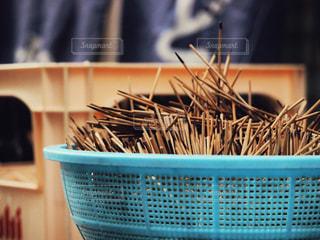 竹串の山の写真・画像素材[2885573]