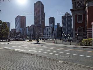 市内の空路の写真・画像素材[2951039]