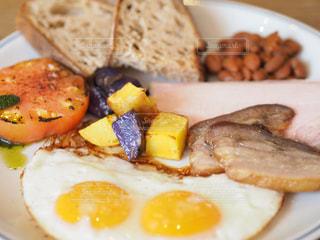 食べ物の皿の写真・画像素材[3419127]