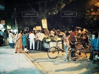 インドの夜の写真・画像素材[3536529]