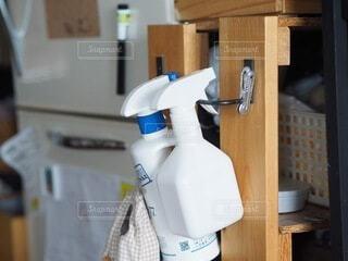 冷蔵庫のクローズアップの写真・画像素材[3739737]