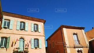 ヨーロッパのかわいい建物の写真・画像素材[929324]