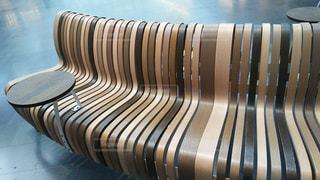 木製のベンチの写真・画像素材[960674]