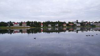 アイスランドの朝の写真・画像素材[960675]