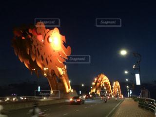 ベトナム ダナン ドラゴンブリッジの写真・画像素材[928376]