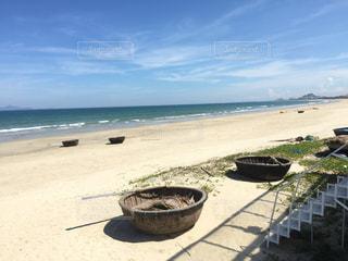 ベトナム ダナン ビーチ風景の写真・画像素材[928534]