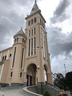 ベトナム ダラット 教会の写真・画像素材[1190576]