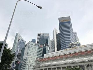 シンガポールの高層ビル群の写真・画像素材[1431467]