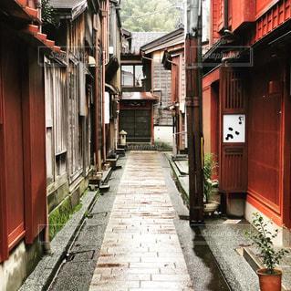 金沢ひがし茶屋街の裏路地の写真・画像素材[2922196]