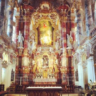 美しい教会 ヴィースの巡礼教会の写真・画像素材[928421]