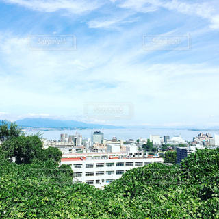 琵琶湖を撮影しました。の写真・画像素材[928422]