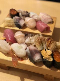 仙台で食べたお寿司の写真・画像素材[1802850]