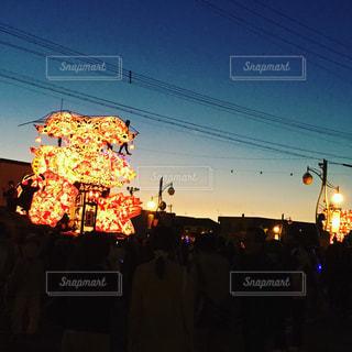 沼田町夜高行灯の写真・画像素材[928952]